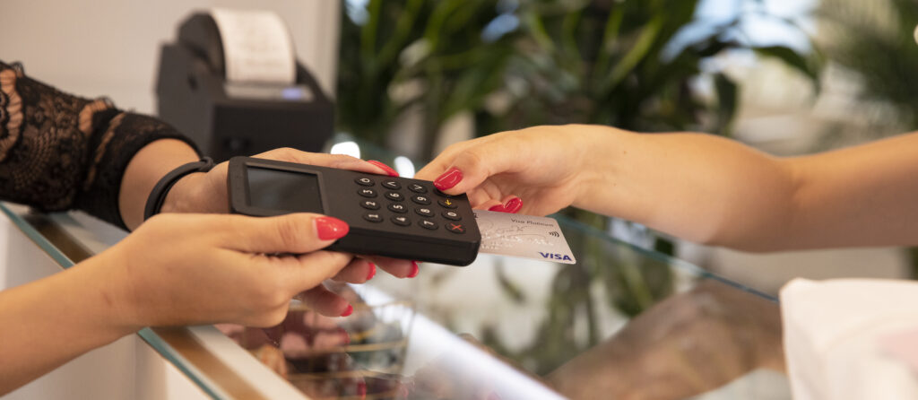 POS terminal - combo pay from Excellio
